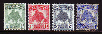 Gilbert & Ellice. Sg 8-11. Mounted Mint & Used.