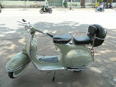 "1962' vintage Vespa VBB 150 Fully Restored ""BUY IT NOW"" get free SHIPPING"