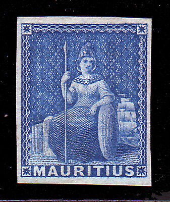 Mauritius. Sg 31. No Value, Not Issued. Mounted Mint.