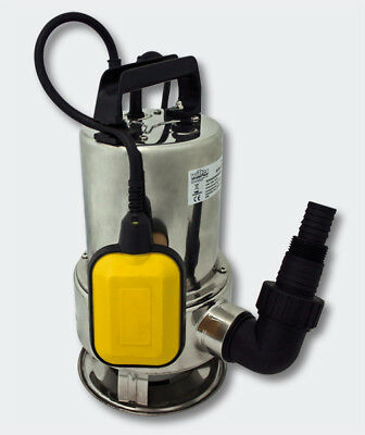 Trash Water Pump Submersible Pump - Stainless Steel 10.500 l/h / 550 Watt
