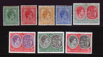 St Kitts & Nevis. Mounted Mint Selection.