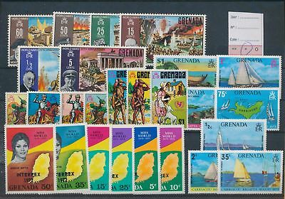 LH22301 Grenada nice lot of good stamps MH