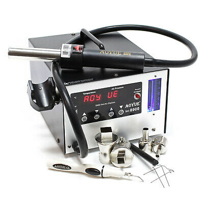 AOYUE INT 8900 Rework Hot air soldering station Iron Reballing