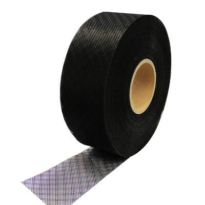 Soffit Vent mesh 30m Rolls Black Insect Screen 75mm to 300mm wide plastic mesh