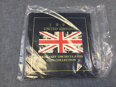 1995 United Kingdom Brilliant Uncirculated Coin Collection sealed TCS376