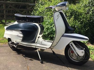 Lambretta SX200 1966 Early First Year of Manufacture Italian Low Mileage