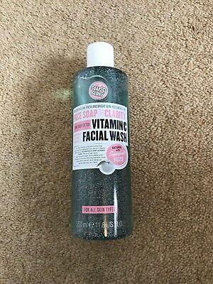 Soap And Glory Vitamin C Facial Wash 350ml 3-in-1 Daily Detox Soap & Glory Face