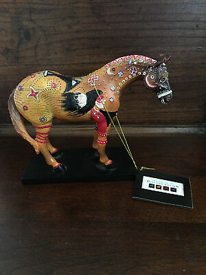 TRAIL OF PAINTED PONIES GHOST HORSE 1E/4,947 item #1544 retired 2004 TAG nice!