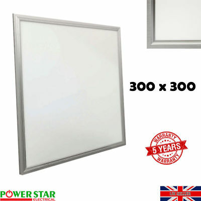 New LED Ceiling Flat Panel Light 300x300mm Ultra Thin Downlight Bulb Cool White