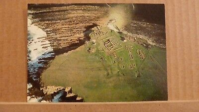 Postcard unposted Orkney Brough of Birsay