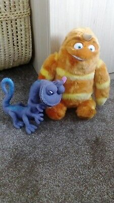 Monsters Inc soft toys. George sanderson and Randal