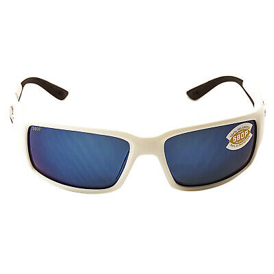b1a5d7e8eb Costa Del Mar TF25OBMP Women s Fantail Polarized Plastic 580P Blue Mirror  Lens W