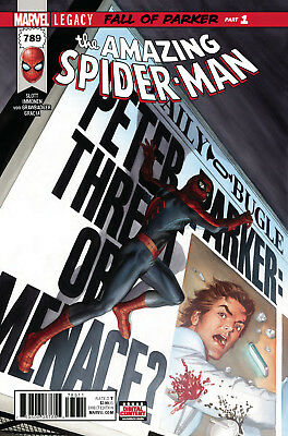 AMAZING SPIDER-MAN #789 LEGACY (MARVEL 2017 1st Print) with Marvel Stamp! COMIC