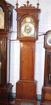 Georgian Brown Ferry Fecit Longcase Grandfather Tallcase clock C1790