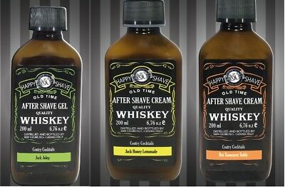 Whiskey After Shave Gel Cream Nutriente Energizzante Tonificante