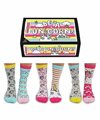 Be A Unicorn 6 Dreamy Oddsocks for Ladies