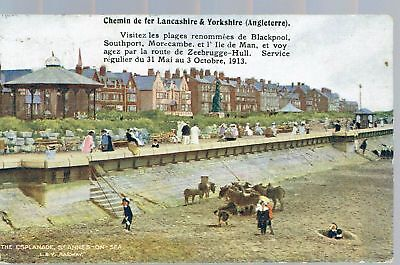 Railway Official Lancs And Yorkshire Railway St Annes On Sea  French 1913