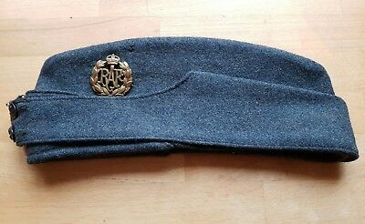 Fantastic WW2 Original RAF Airmens Other Ranks Large Size Side Hat Cap