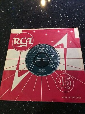 "Elvis Presley 1968 Uk Rca Demo:""u.s.male"".excellent+++ Condition.lovely Example!"