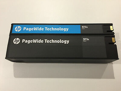 3x Empty HP PageWide Ink Cartridges HP 973x High Yield