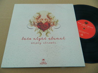 LATE NIGHT ALUMNI -EMPTY STREETS -2005 HED KANDI -DEEP/PROG HOUSE-TOP COPY! Ex++