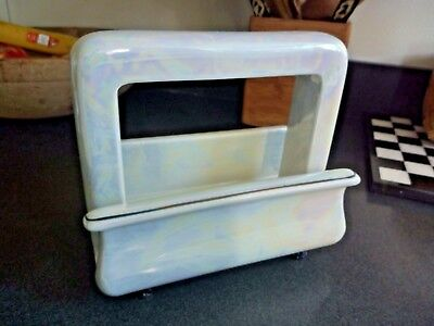 Toastrite Pan Electric Pearl White Luster Porcelain toaster Shell Excellent