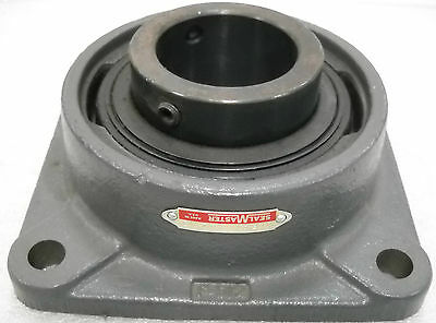 """Seal Master MSF-40, 2 1/2"""" 4 Bolt Flange Bearing, New Old Stock"""