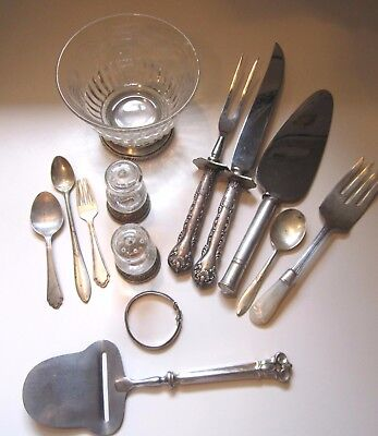 LOT OF Weighted & Not Weighted STERLING SILVER SCRAP OR USE  2 lbs Pounds