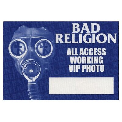Bad Religion authentic ALL ACCESS 2003 tour Backstage Pass