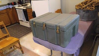 HARDIGG Hard Shell Molded Military Surplus Carry Case Tote 24x20x12