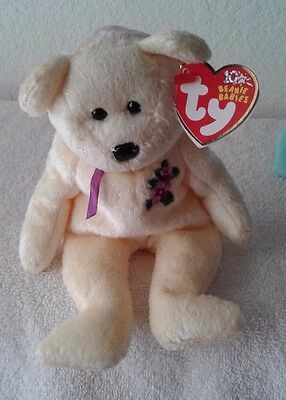 Ty Beanie Babies Mother Yellow Beanbag, Plush, Toy Born:05/16/2002