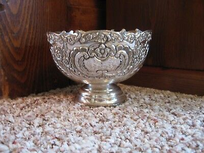 Silver Plate Bowl: F.B. Rogers Very Decorative Bowl
