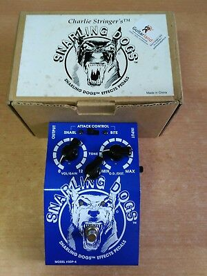 Pedal Snarling Dogs Blue Doo