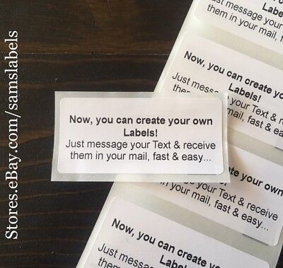 "Custom Labels Personalized Stickers Shipping Address Tage 1.1"" x 2.4"""