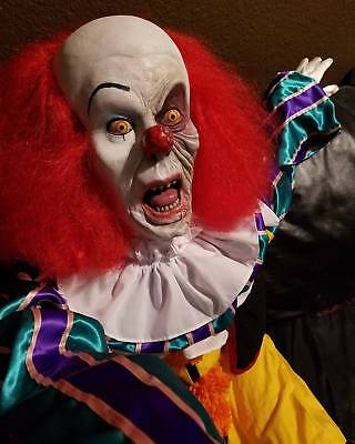 Autographed Tim Curry Stephen King It Pennywise Clown Halloween Puppet Psa/dna