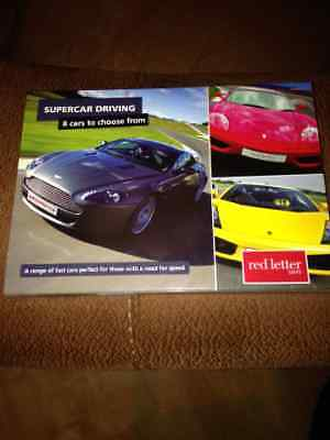 Red Letter Days Supercar Driving Gift Voucher