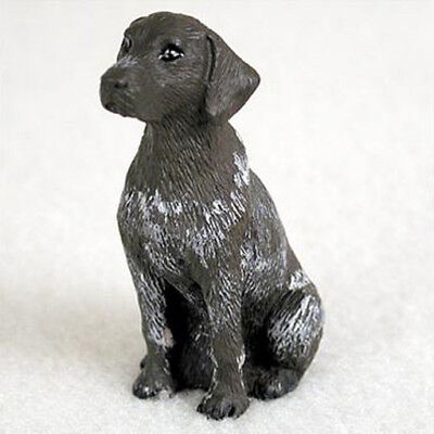 GERMAN SHORTHAIRED POINTER TINY ONES DOG Figurine Statue Pet Lovers Gift Resin