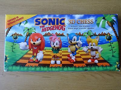 Sonic The Hedgehog 3-D Chess Set