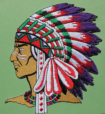 Ecusson Iron-on embroidered Patch Indian, Sioux