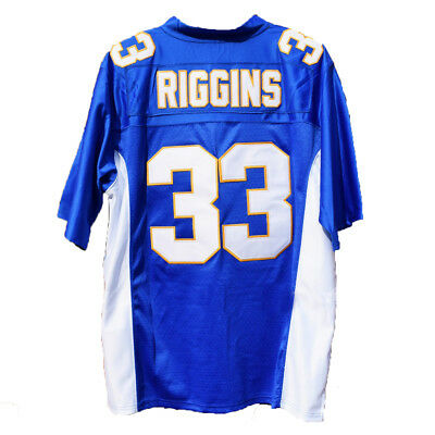 Tim Riggins #33 Panthers Football Jersey Friday Night Lights TV Show Uniform