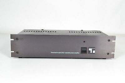 Threshold Model CAS 1 Cascode Stereo Power Amplifier - Nelson Pass - Made in USA