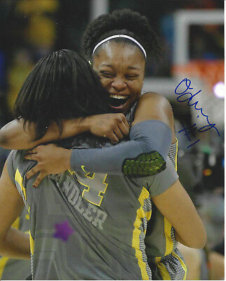 Odyssey Sims autographed auto 8x10 Baylor Bears Los Angeles Sparks Free Shipping