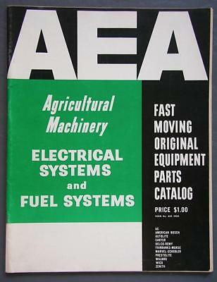 1964 AEA Agricultural Machinery Parts Catalog Electrical & Fuel Systems