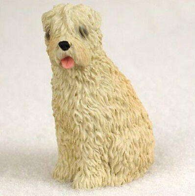 WHEATEN TERRIER  TINY ONES DOG Figurine Statue Pet Lovers Gift Resin