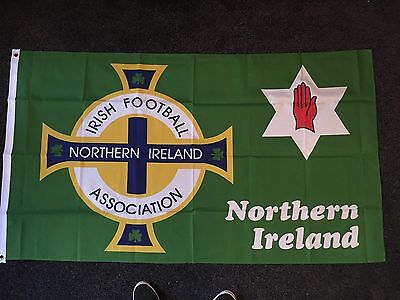 Northern Ireland Football Flag 5x3 Loyalist Unionist July 12th Protestant Sports