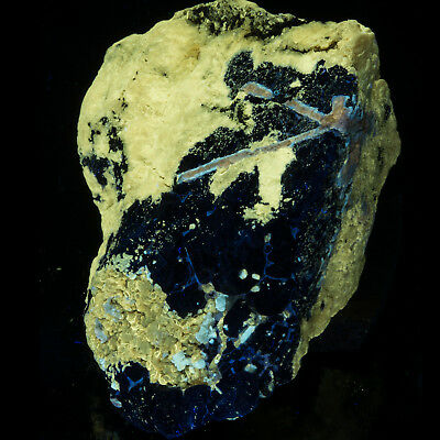 MSW2298: Phlogopite, Lazurite, Unknown Blue Crystals - Afghanistan
