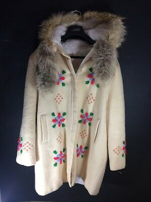 Vintage Hudson Bay Jacket (womens) Made In Canada CA000234 Wool Size 14