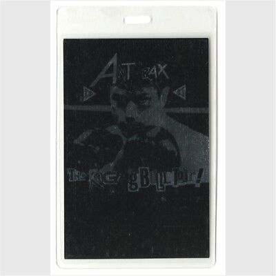 Anthrax authentic 1990 concert Laminated Backstage Pass Raging Bull Tour VIP