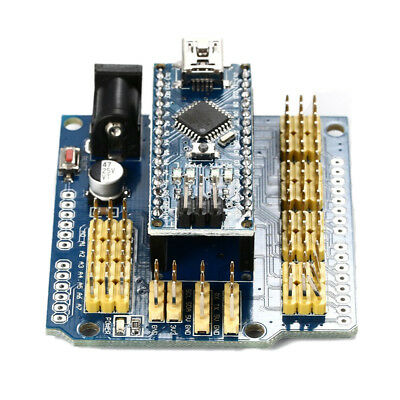 Nano I / O Expansion Shield for  Arduino UNO R1 Nano 3.0+ Nano V3.0 ATmega3 X5B4