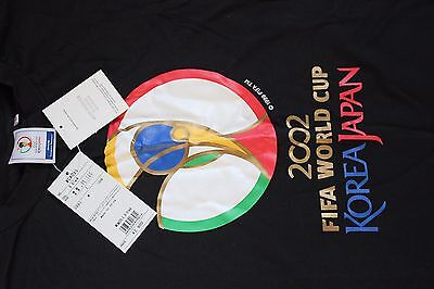 FIFA World Cup 2002 Japan Brand new Quality t shirt purchased at event. Size (L)
